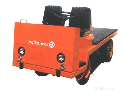 платформенная электротележка balkancar